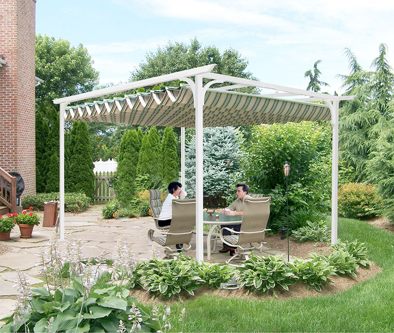 Retractable Canopies & Pergola Canopies