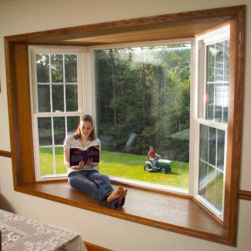 Bay Style Vinyl Windows