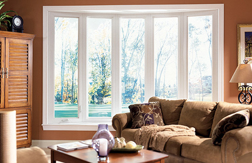 Bow Style Vinyl Windows