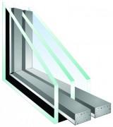 Triple Pane Window Glass