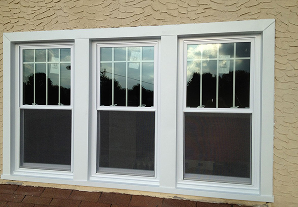 Vinyl Double Hung Windows : Replacement windows energy efficient american