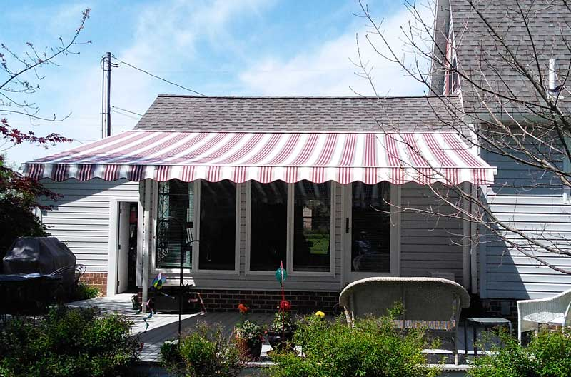 Large Retractable Awning in Gettysburg, PA