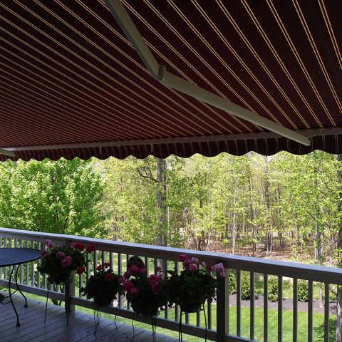 American Awnings & Replacement Windows Awnings Project 007