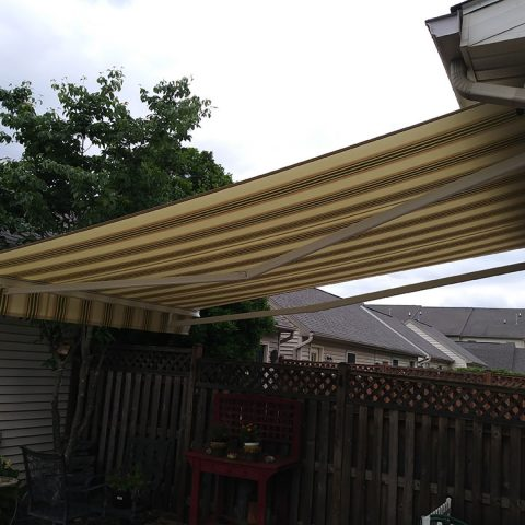 American Awnings & Replacement Windows Awnings Project 019