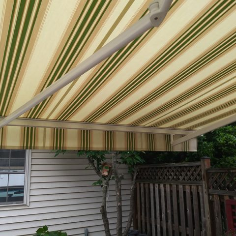 American Awnings & Replacement Windows Awnings Project 021