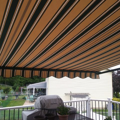 American Awnings & Replacement Windows Awnings Project 025