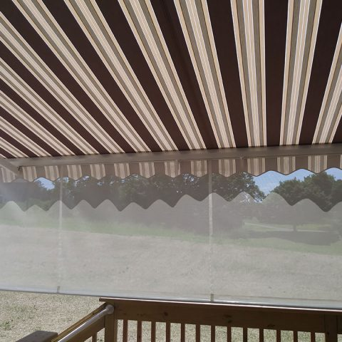 American Awnings & Replacement Windows Awnings Project 027