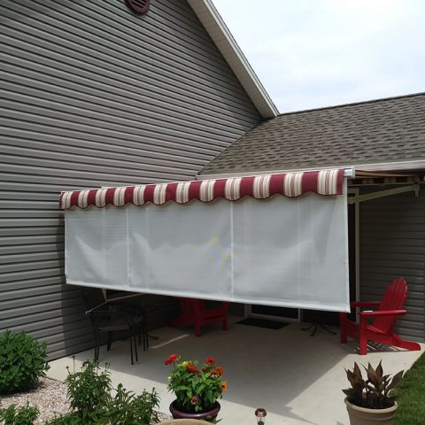 American Awnings & Replacement Windows Awnings Project 030
